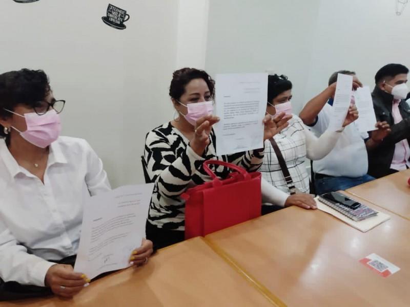 Señalan discriminación contra mujeres y discapacitados en partido político