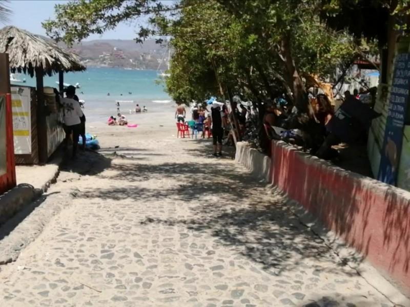Señalan que Salud debió colocar módulos en playas