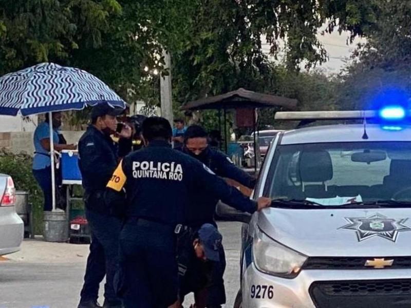 Separados de su cargo policías involucrados en homicidio en Tulum