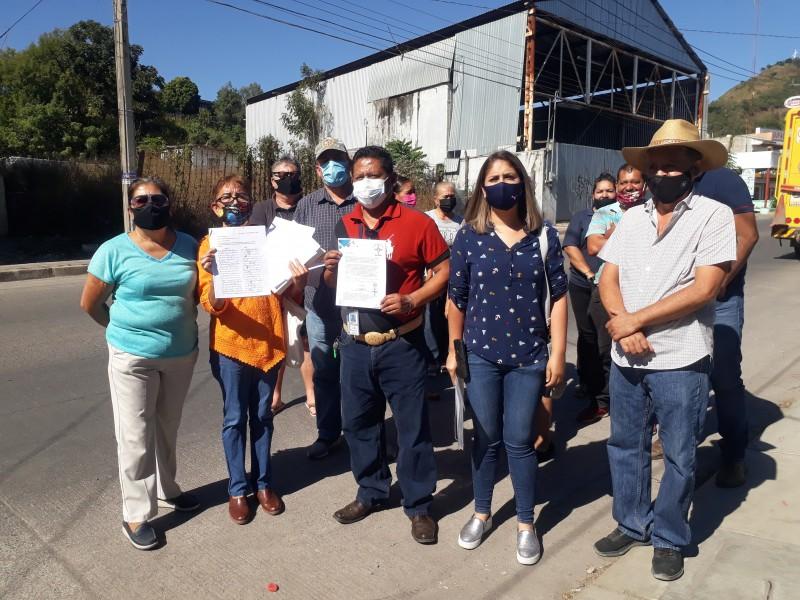 Ser oponen ciudadanos a gasera en avenida Zapopan