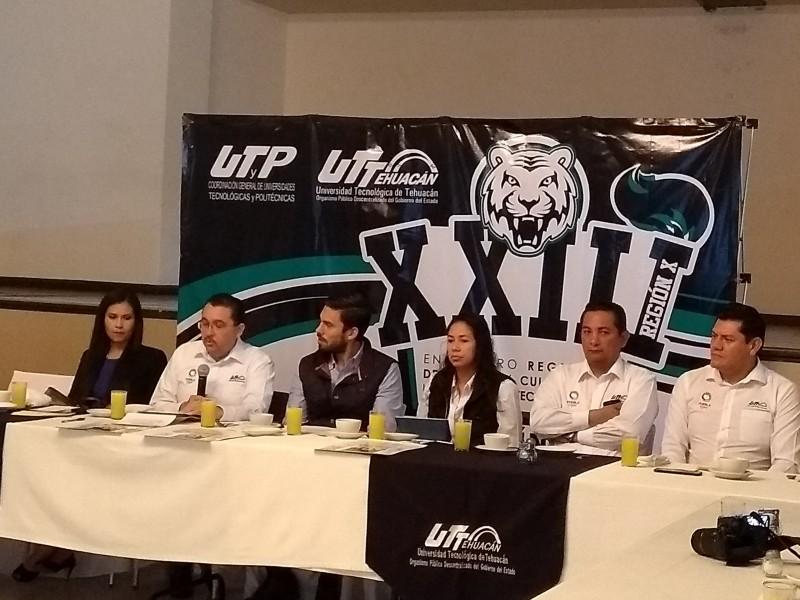 Será la UTT Tehuacán sede de encuentro regional