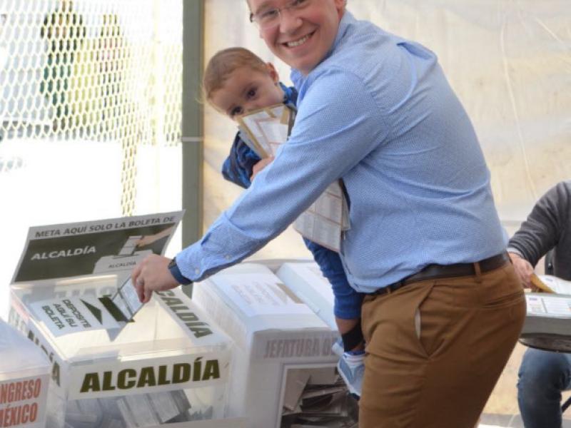Será una jornada electoral ejemplar, prevé Santiago Taboada
