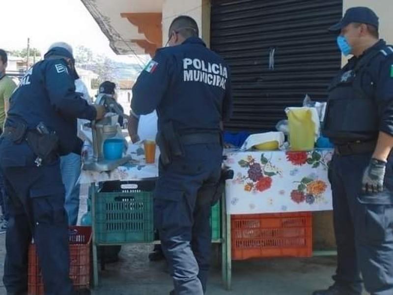 Serán 20 policías despedidos tras anomalías en Huauchinango