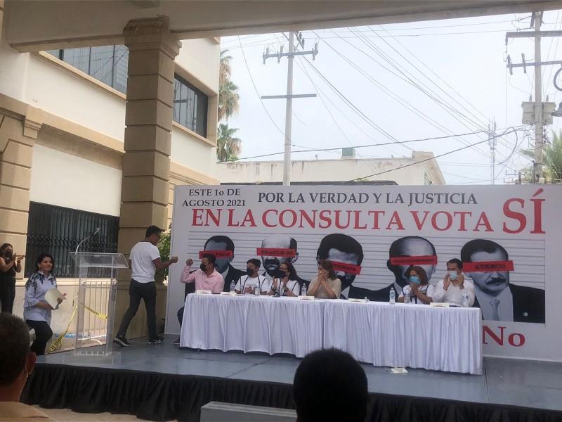 Serán más de 800 mil votos de Sonora para consulta