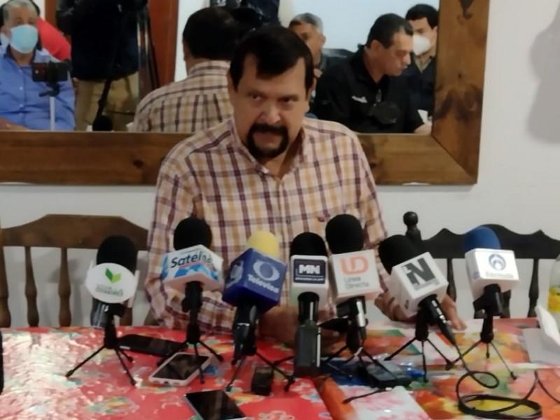 Serapio Vargas asegura luchará por los productores desde el Congreso