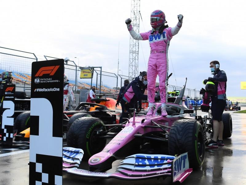 Sergio Perez arrancara tercero en el gran premio de Turquía