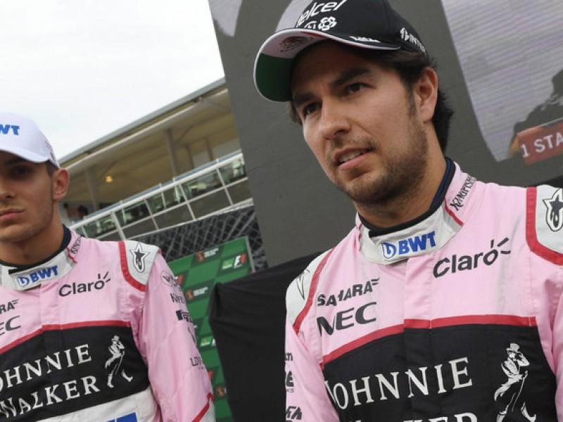 Sergio Pérez renueva con Force India