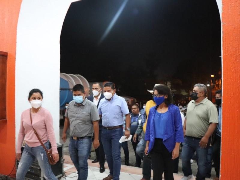 Sergio Sandoval Paniagua toma protesta como Presidente de Ajalpan