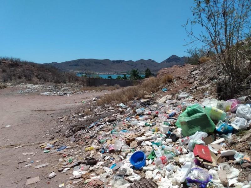 Serio problema basureros clandestinos