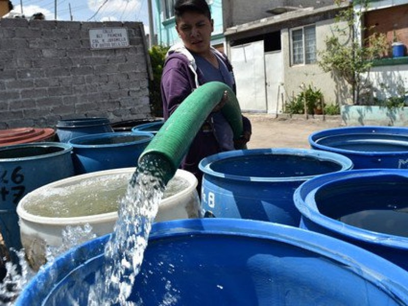Servicio de agua se normalizaría el jueves