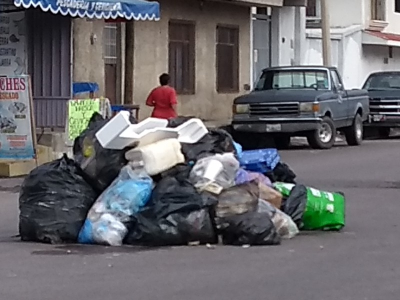 Servicio  de recolección de basura finalmente restablecido