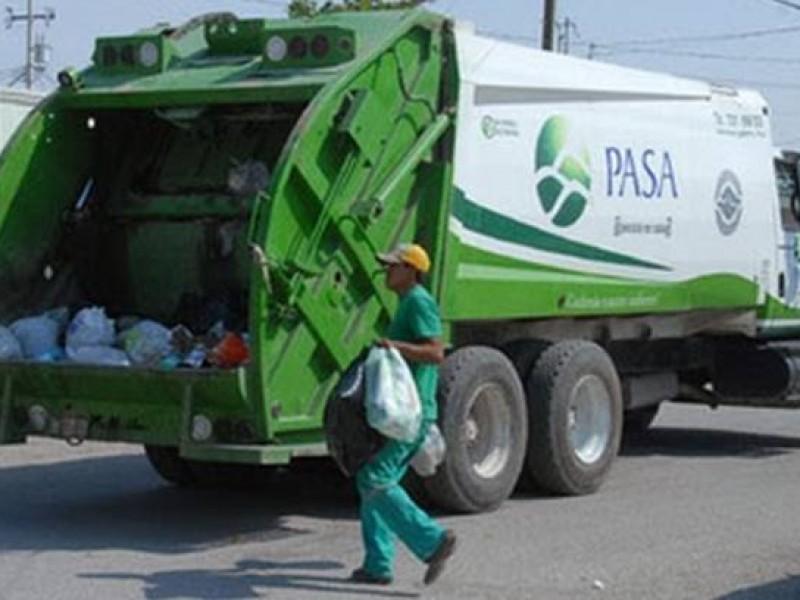 Servicio de recolección de basura opera normal ante contingencia Covid-19