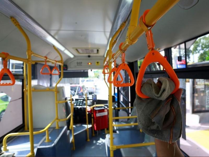 Servicio de transporte público no se verá afectado por botón.