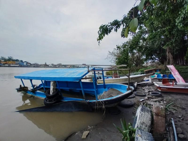 Servicios acuáticos de Tuxpan dañados por el Huracán Grace