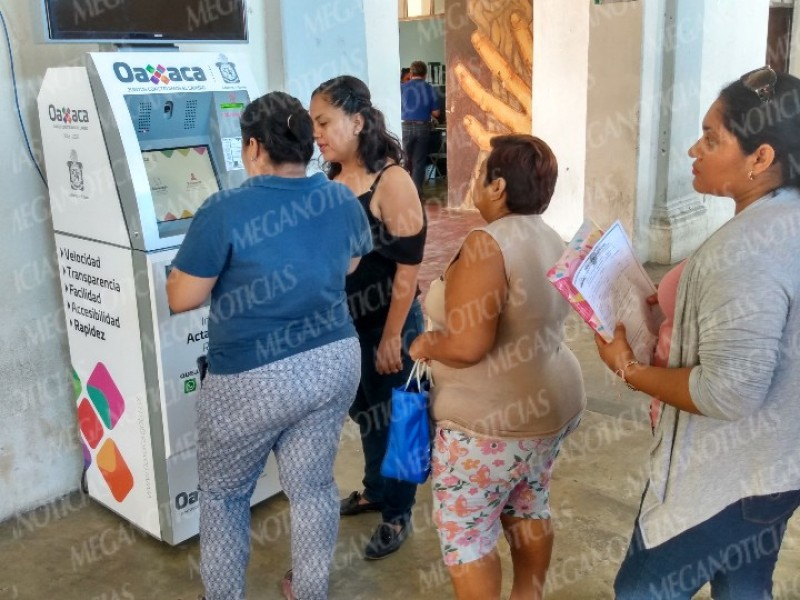 Servicios digitales del Registro Civil llegan a Tehuantepec