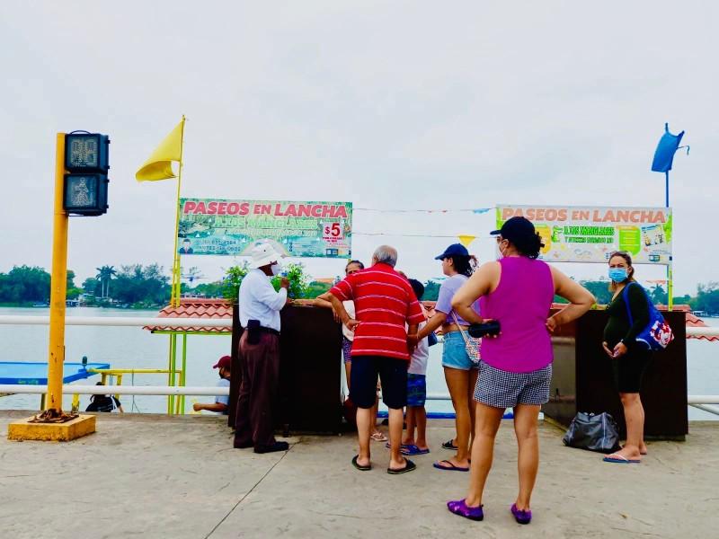 Servicios turísticos acuáticos sufren por subsistir