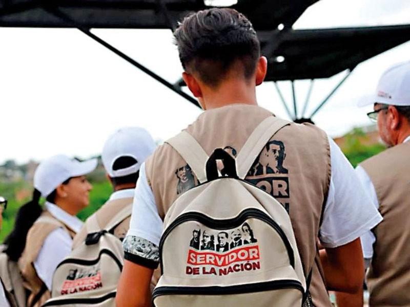 Servidores de la Nación en Guaymas apoyan en coordinación paravacunación