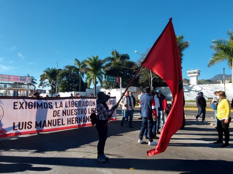SETUAN establecerá plantón indefinido frente a Palacio de Gobierno