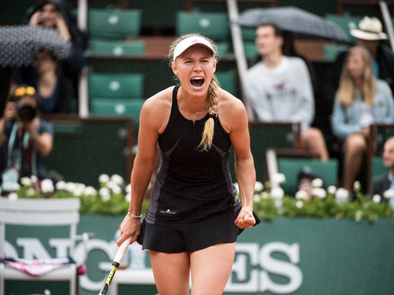 Sexto día de actividades en Roland Garros