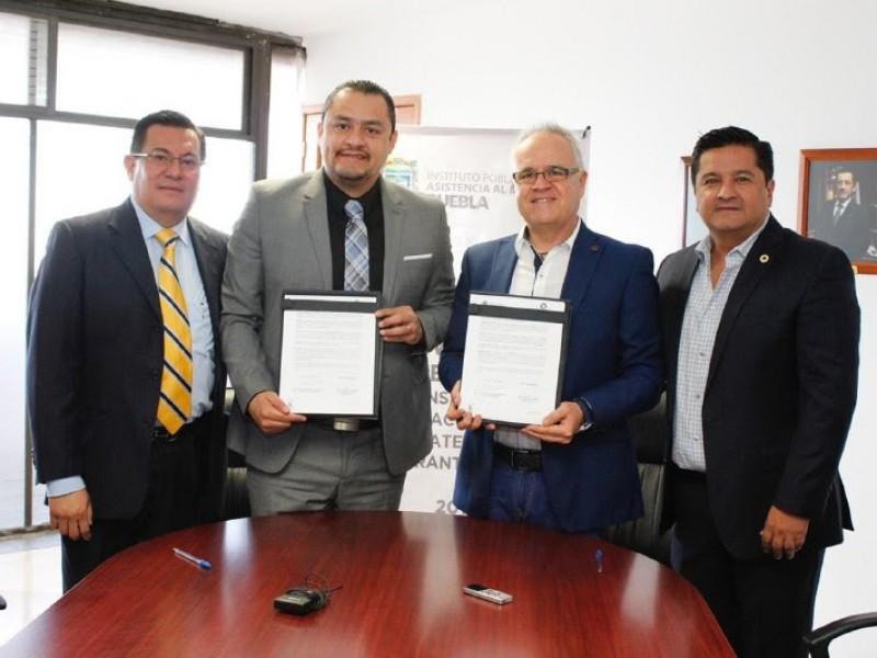 SGG-CANACINTRA firman convenio a favor de migrantes