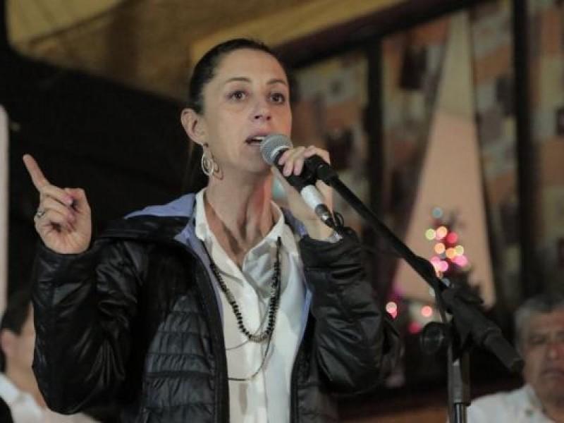 Sheinbaum anuncia jornada notarial para damnificados
