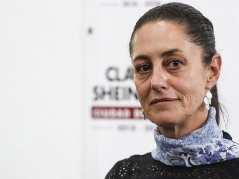 Sheinbaum donará dos meses de su salario por Covid-19