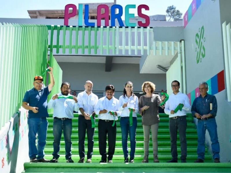 Sheinbaum inaugura Pilares en Gustavo A. Madero