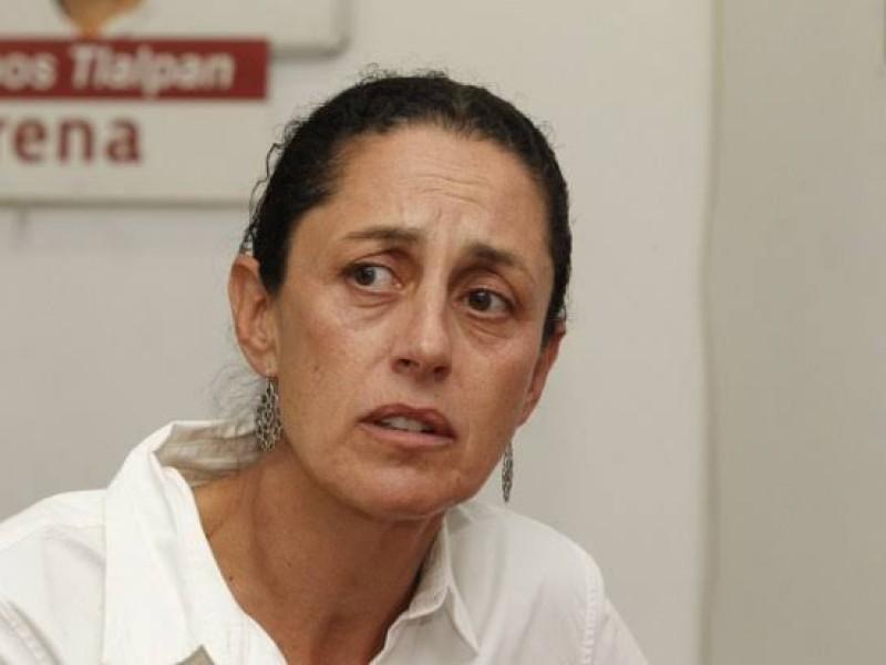 Sheinbaum niega división en Morena