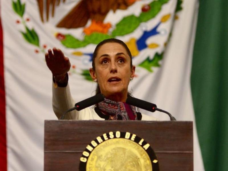 Sheinbaum rinde protesta como jefa de Gobierno