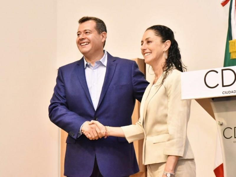 Sheinbaum y Amieva abordarán seguridad y reconstrucción