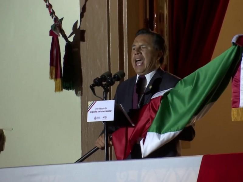 Sí habrá Grito de Independencia en Veracruz, será virtual
