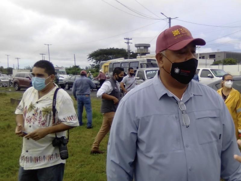 Sí hay obras de Gobierno del estado en el Puerto:Eric-Cisneros