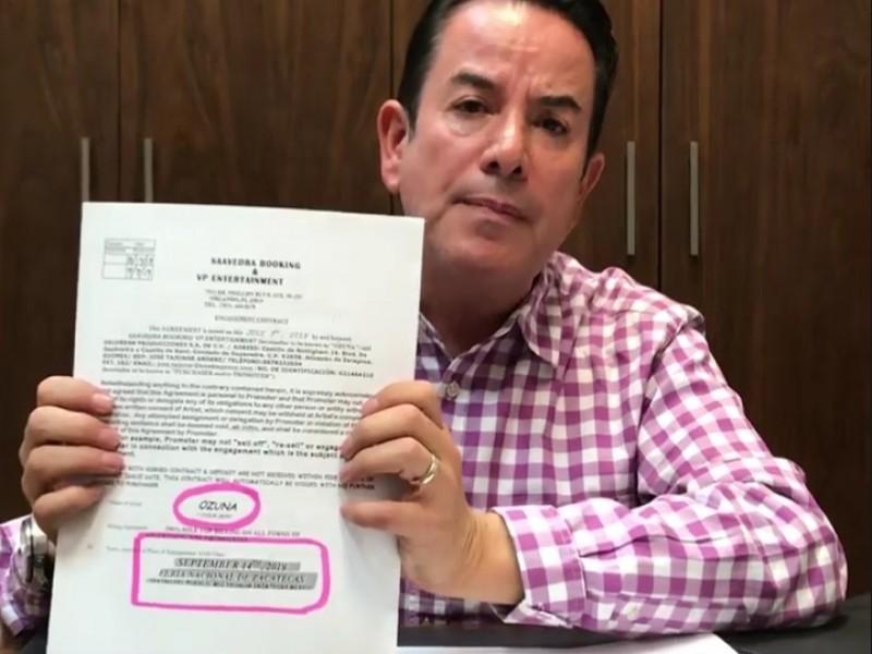 Si hubo contrato con Ozuna desmiente Benjamín Medrano