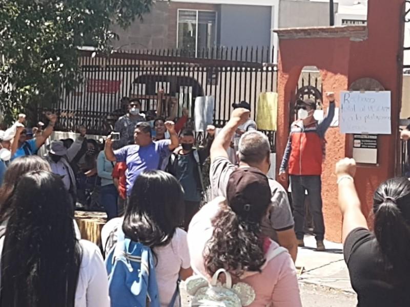 Si no pagan no habrá casillas en escuelas, amaga CNTE