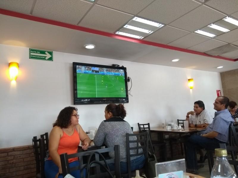 Restaurantes esperan mayor ventas por avance de México