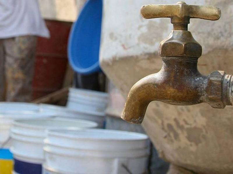 SIAPA recorta mil litros mensuales al derecho humano al agua