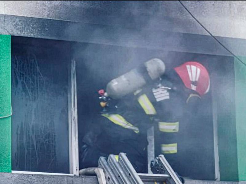 Siete muertos tras incendio de hospital Covid-19 en Rumania