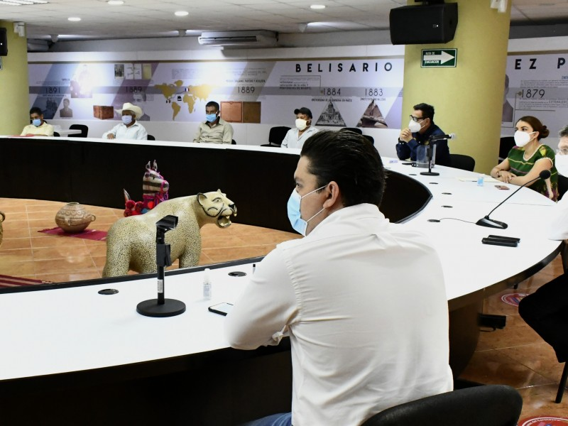 Sigue diálogo para resolver problemas agrarios en Carranza