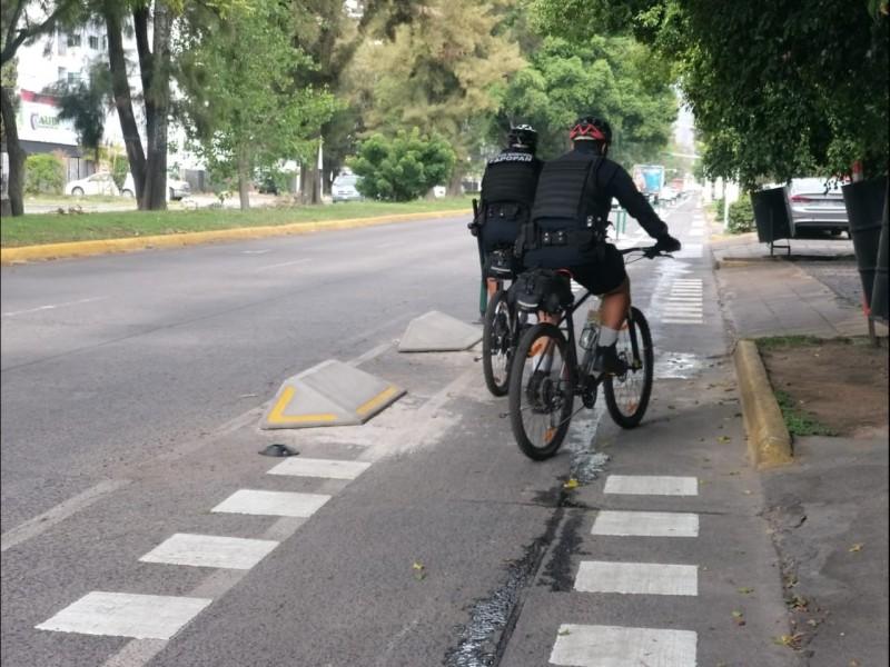 Sigue discusión por ciclovía emergente en Av. Guadalupe