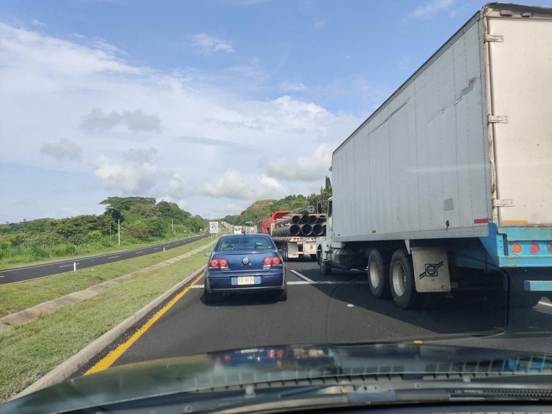 Sigue el robo de transporte de carga en carreteras