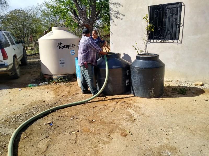 Sigue en aumento comunidades afectadas por sequía en Sinaloa