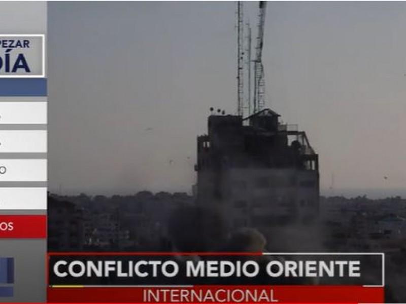 Sigue escalando el conflicto entre palestinos e israelíes