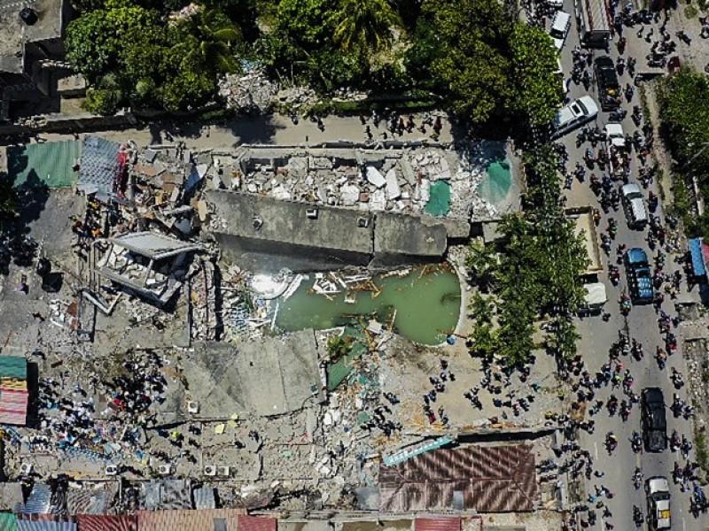 Sigue la crisis en Haití tras sismo