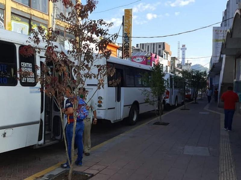 Sigue la restructuración de rutas de transporte en el centro