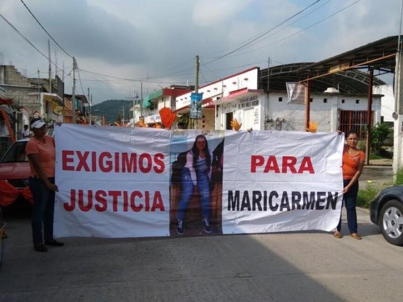 Sigue libre el feminicida de Maricarmen, aún con pruebas