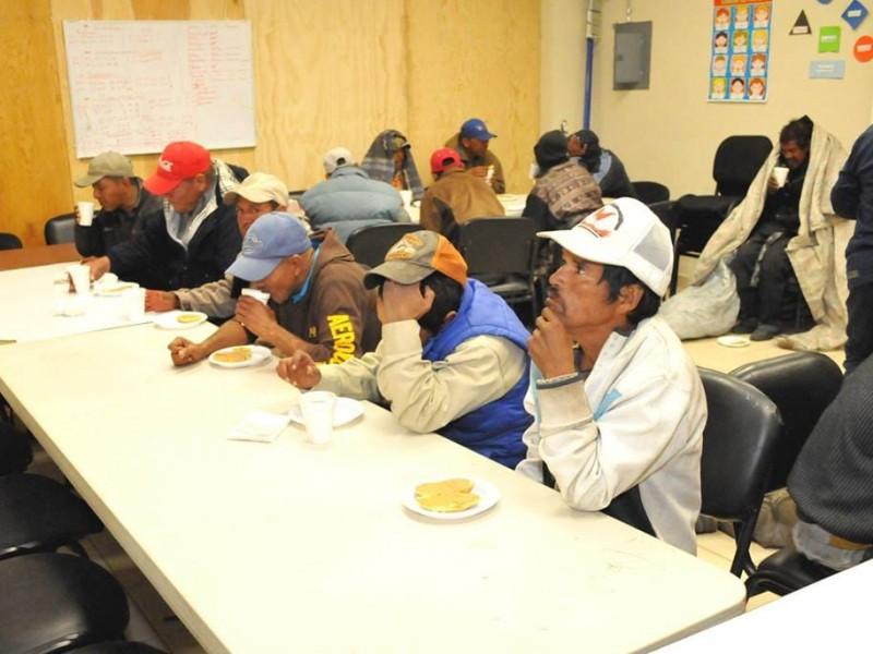 Sigue operativo de apoyo a indigentes