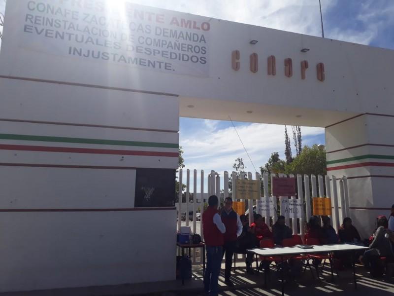 Siguen sin solución despidos de Conafe en Zacatecas
