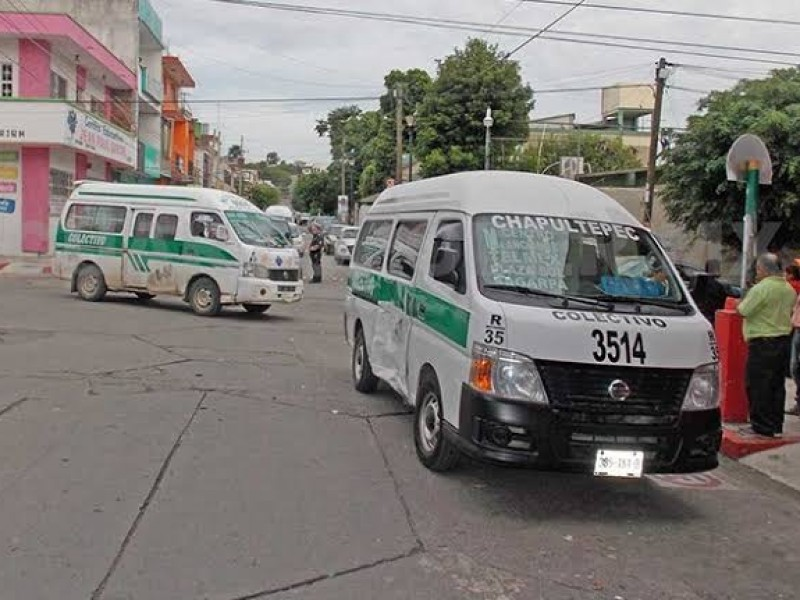 Sigue transporte público infringiendo medidas sanitarias