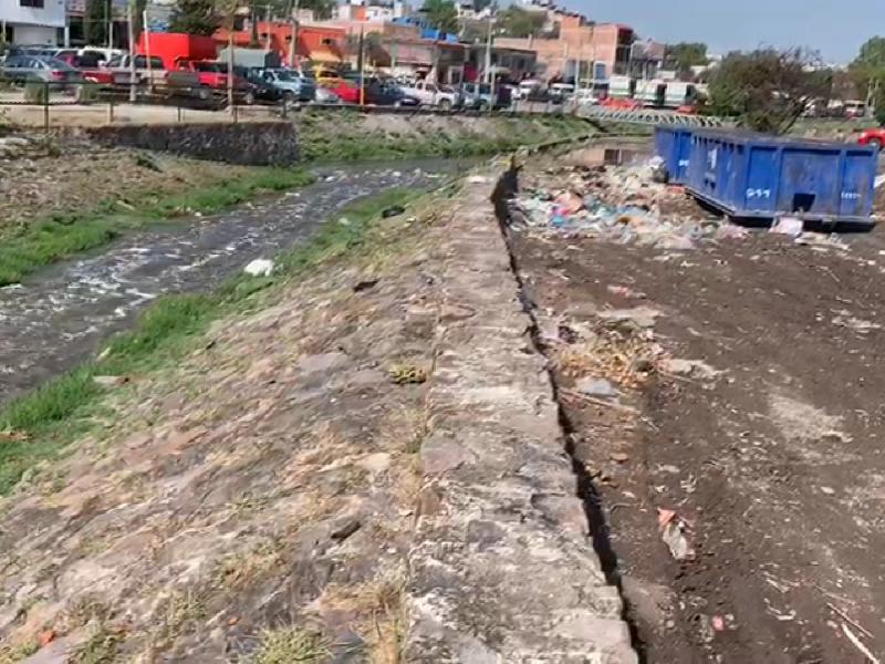 Siguen drenes sucios en Querétaro