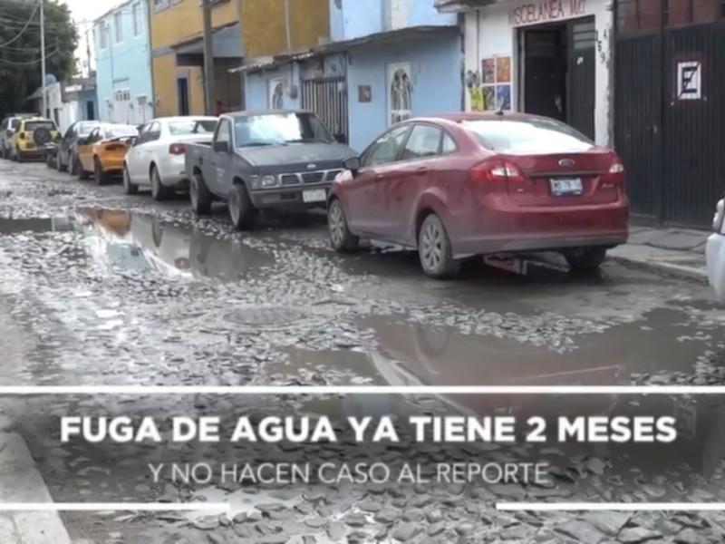 Siguen problemas de tubería en Felipe Carrillo Puerto